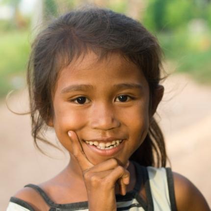 East Timor girl